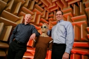 Jerry Steinbrink  &  John Sateja - In Consumer Reports Audio Testing Room /  / Client - Crains NY Business